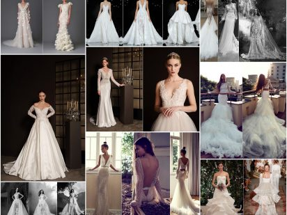 All About The Dress : 2017 Wedding Dress Style Trends