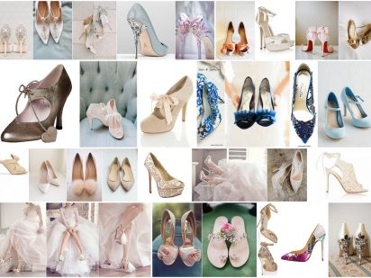 That Cinderella Moment : 2017  Wedding Shoe Trends