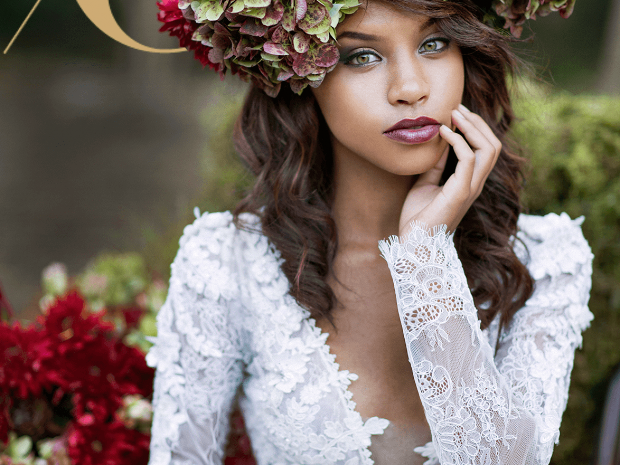 Frolicking Forest Fairies : Woodlands Bridal Style