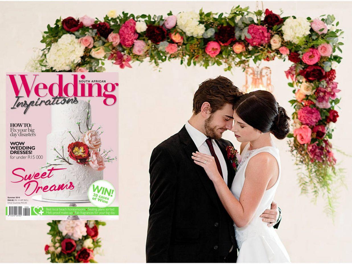Soirée Floraison : Wedding Inspirations Magazine Summer 2016