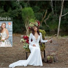 Forest Fairytales: Perfect Wedding Issue 129 Feb 2016
