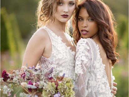 Modern Romance : The Garden Rose Bride